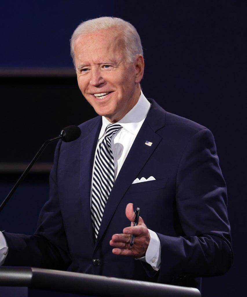 CLEVELAND, OHIO – SEPTEMBER 29: Democratic presidential nominee Joe Biden participates in the first presidential debate against U.S. President Donald Trump at the Health Education Campus of Case Western Reserve University on September 29, 2020 in Cleveland, Ohio. This is the first of three planned debates between the two candidates in the lead up to the election on November 3. (Photo by Scott Olson/Getty Images)