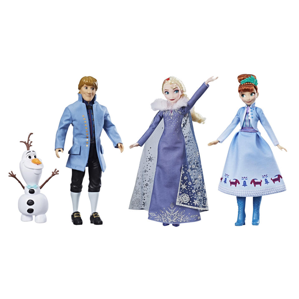 The <i>Olaf's Frozen Adventure</i> Festive Friends Collection (Photo: Hasbro)
