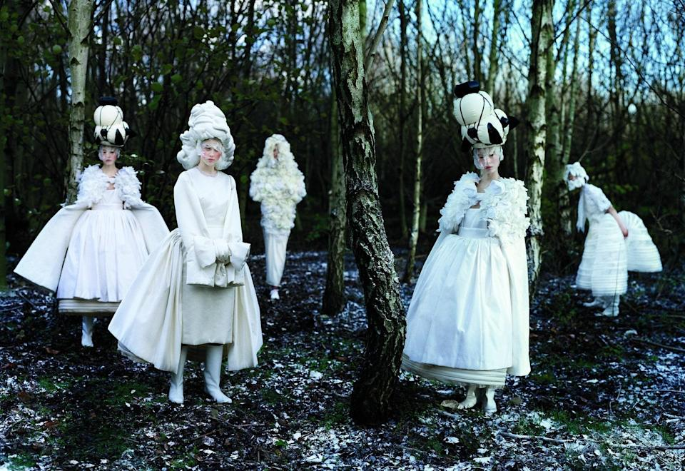 Photographed by Tim Walker, May 2012