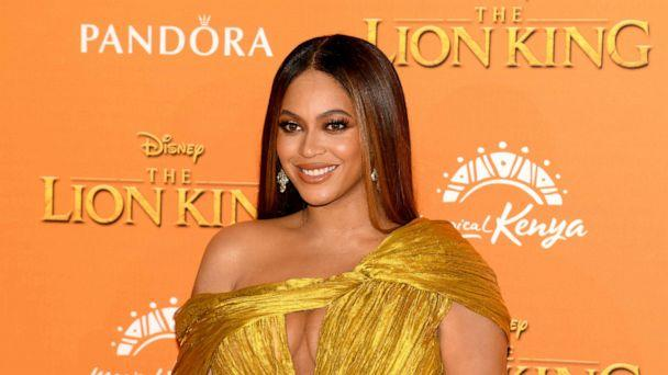 PHOTO: Beyonce Knowles-Carter attends the European Premiere of Disney's 'The Lion King' at Odeon Luxe Leicester Square, July 14, 2019, in London. (Gareth Cattermole/Getty Images)