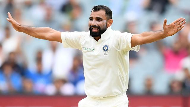 Mohammed Shami took three wickets as Bangladesh folded in the first of two Tests against India, who were going well in reply at stumps.