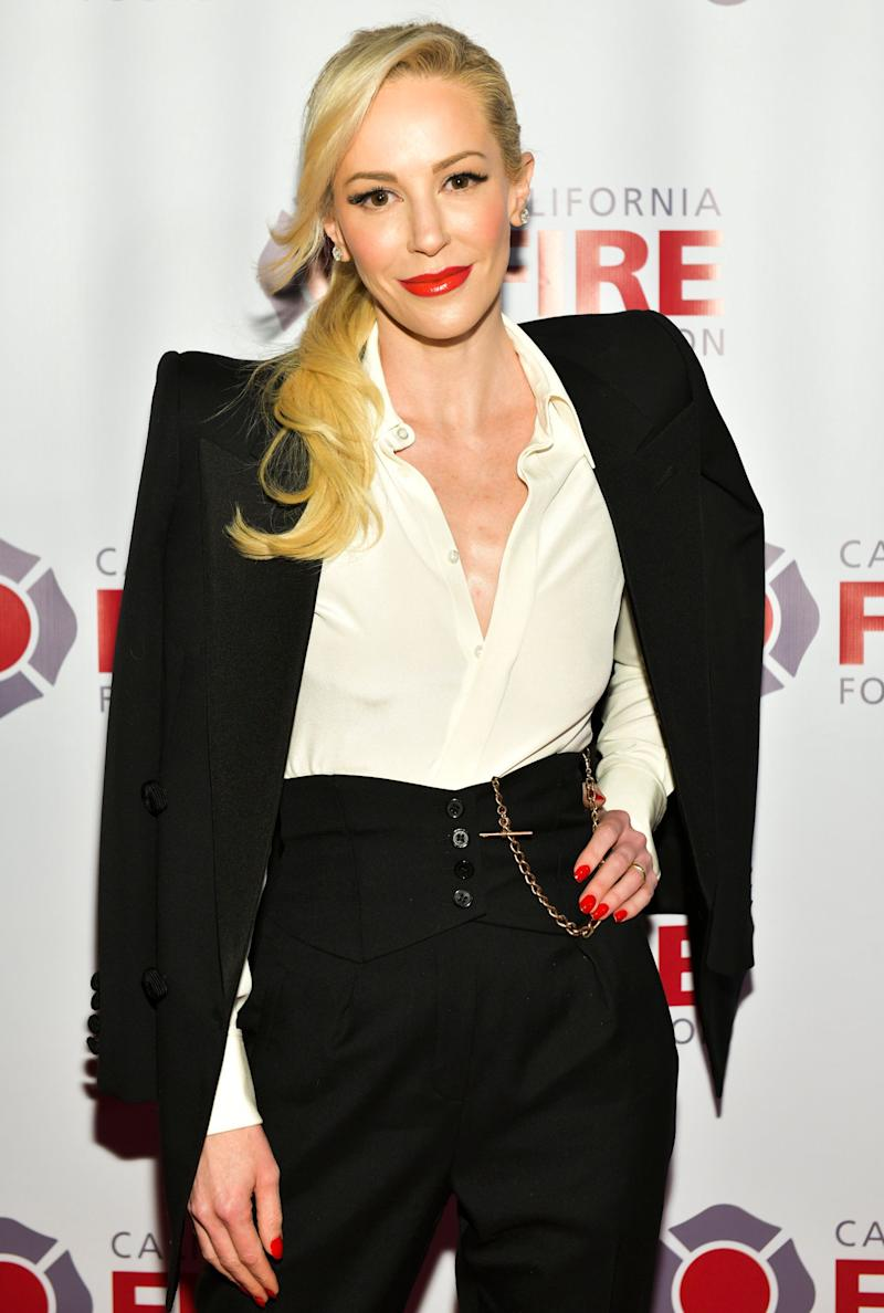 LOS ANGELES, CALIFORNIA - MARCH 20: Louise Linton attends the California Fire Foundation 6th Annual Gala - 'Celebrating Uncommon Courage' at Avalon Hollywood on March 20, 2019 in Los Angeles, California. (Photo by Rodin Eckenroth/Getty Images)