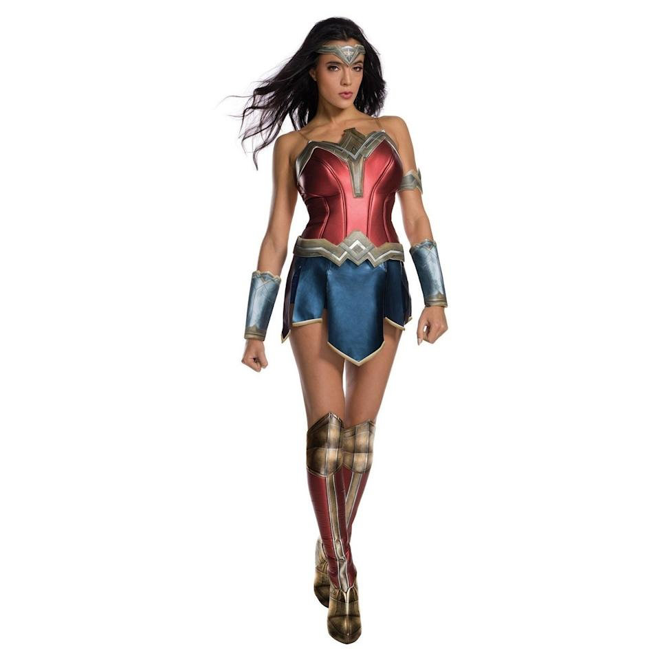 """A true leader, through and through, your costume should reflect your killer confidence. Who better to dress as for the evening than the girl you know you truly are inside: Wonder Woman? $34, Amazon. <a href=""""https://www.amazon.com/Secret-Wishes-Womens-Wonder-Costume/dp/B06XCJRWTR/ref=sr_1_5?crid=11HN8HTTS9T9&dchild=1&keywords=wonder+woman+costume+for+women&qid=1570456548&sprefix=wonder+woman+costume%2Caps%2C127&sr=8-5"""">Get it now!</a>"""