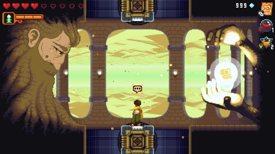 'Dandara' is a sci-fi game styled after the likes of 'Metroid' and 'Castlevania.'