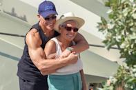 <p>Jean-Claude Van Damme was spotted spending time with his family, including mom Eliana Van Varenbergh in St. Barts.</p>