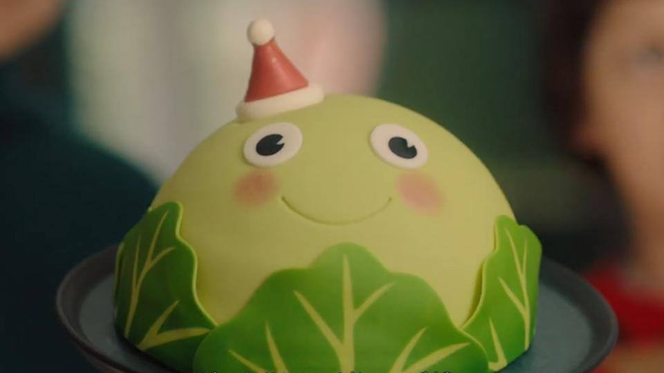 Asda's 2020 Christmas advert features a beaming sprout