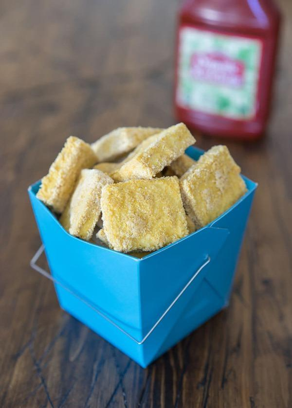 High Protein Vegetarian Meals Baked McTofu Nuggets