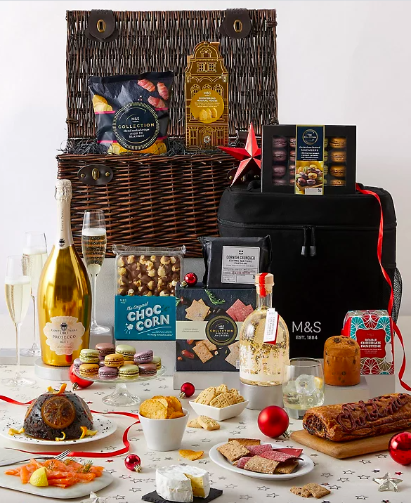 All I Want for Christmas Chilled Hamper. (Marks & Spencer)
