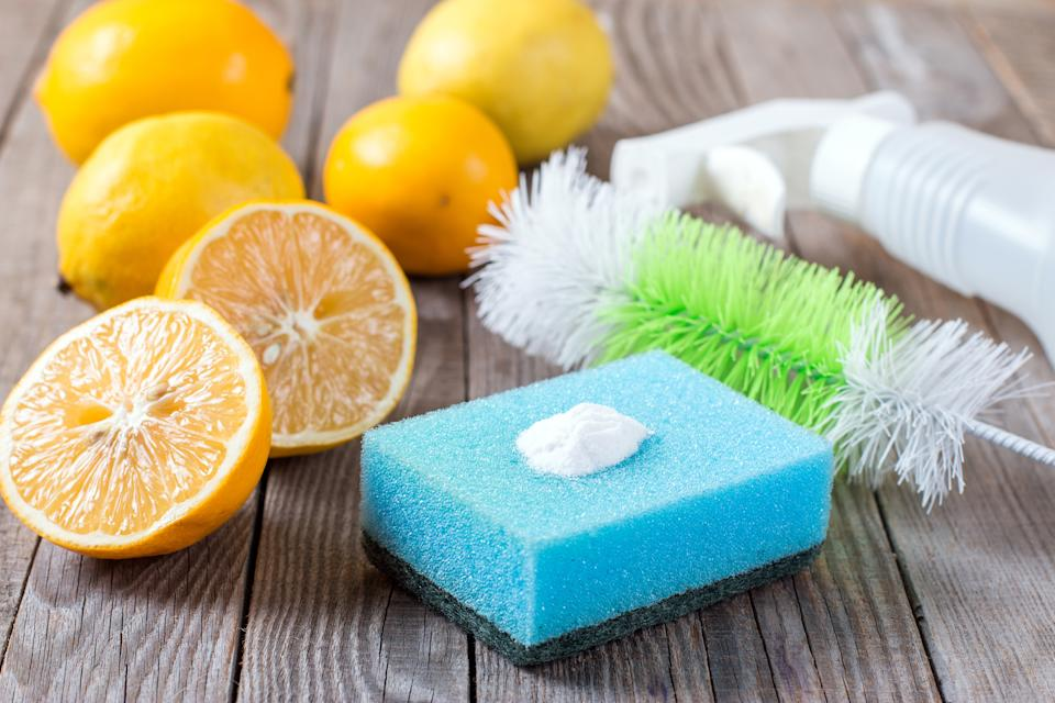 Lemon can make a great natural cleaning product. (Getty Images)