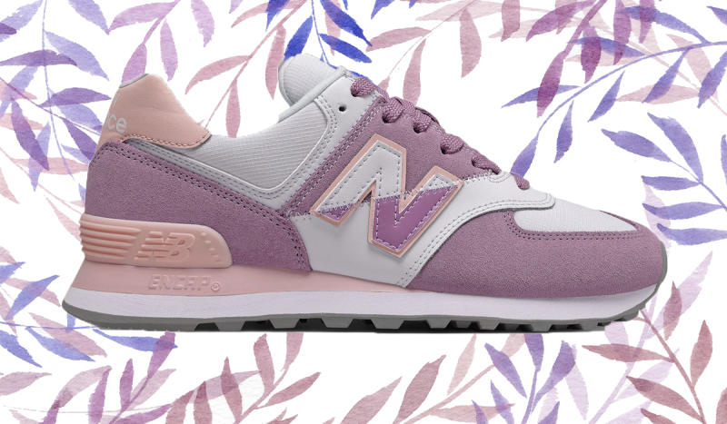 Split colors add a playful touch. (Photo: New Balance)