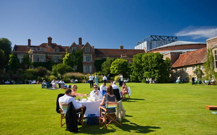 Opera-lovers attend the annual Glyndebourne Opera Festival and picnic in the grounds, Glyndebourne, East Sussex - Tim Graham/Getty Images Europe