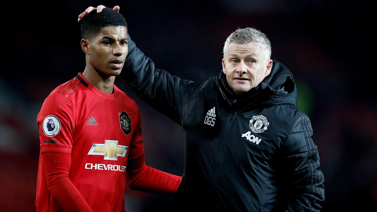 Solskjaer admits Rashford could miss rest of the season