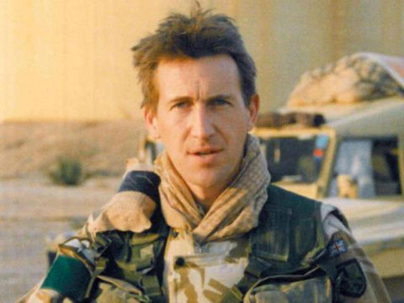 Dan Jarvis, the MP for Barnsley Central, is a former major in the Parachute Regiment who served in three war zones (PA)