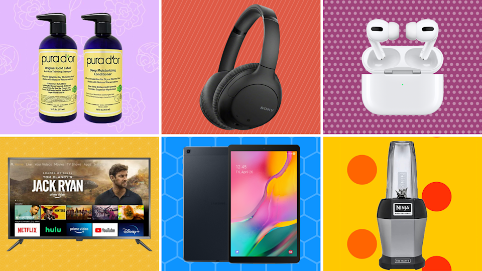 Say farewell to 2020 with incredible savings on tech, beauty, kitchen goods, and more. (Photo: Amazon)