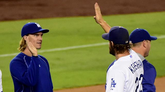Clayton Kershaw and Zack Greinke used to make up the most potent 1-2 punch in MLB. Now they'll trade punches on the mound.