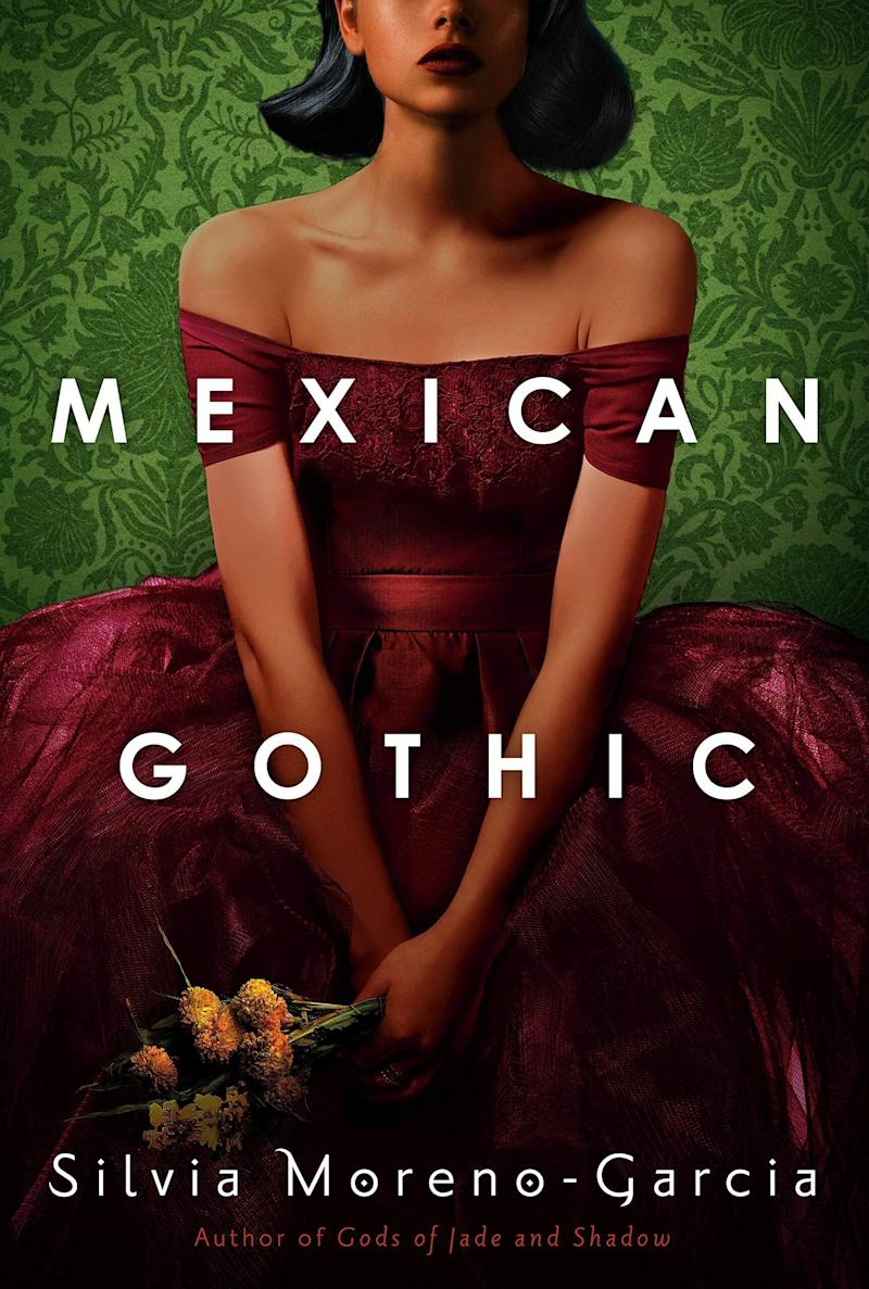 """When Noem&iacute; receives an urgent but enigmatic letter from her newlywed cousin, she heads to High Place, the family house of her cousin&rsquo;s menacing yet alluring English husband. Set in 1950s Mexico, this gothic horror follows the glamorous but tough Noem&iacute; as she digs deep into the dark history of High Place and the mysteries it contains. Read more about it on <a href=""""https://www.goodreads.com/book/show/53152636-mexican-gothic"""" target=""""_blank"""" rel=""""noopener noreferrer"""">Goodreads</a>, and grab a copy on <a href=""""https://amzn.to/2ZWUJzV"""" target=""""_blank"""" rel=""""noopener noreferrer"""">Amazon</a>.<br /><br /><i>Expected release date: June 30</i>"""