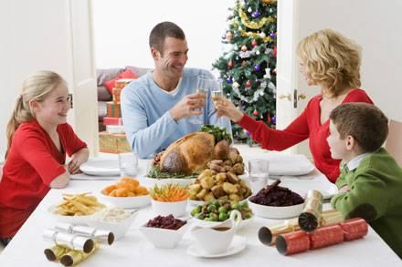 Eat and drink healthily over the Christmas period