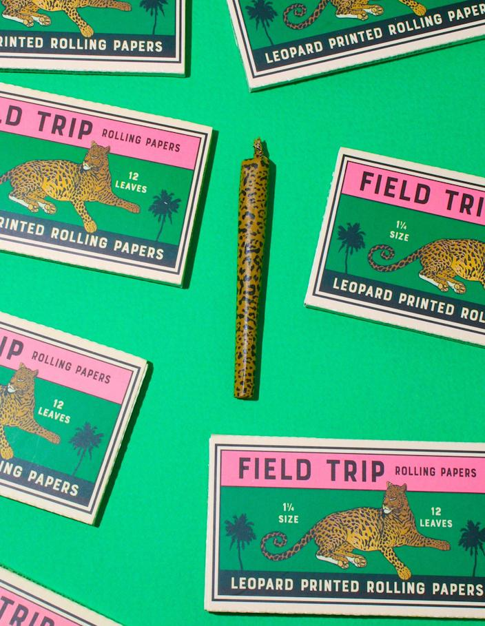 "<p><strong>Field Trip</strong></p><p>alcove.shop</p><p><strong>$14.00</strong></p><p><a href=""https://alcove.shop/collections/patterned-papers/products/leopard-printed-rolling-papers"" rel=""nofollow noopener"" target=""_blank"" data-ylk=""slk:Shop Now"" class=""link rapid-noclick-resp"">Shop Now</a></p>"