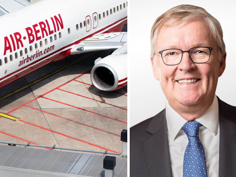 Air Berlin Chef Thomas Winkelmann