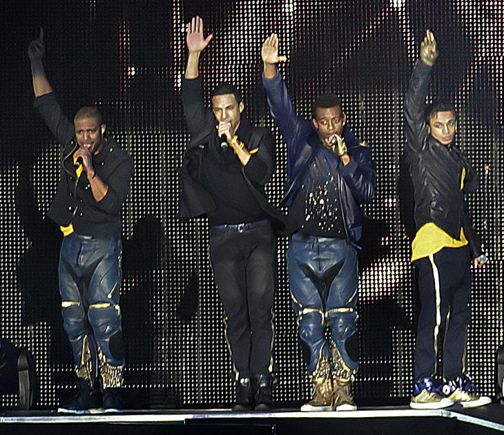 JLS photos: Hands up who's a hottie? Oh yes, that's right, all four of you.