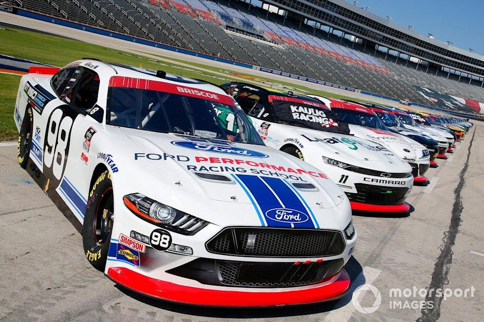 "Chase Briscoe, Stewart-Haas Racing, Ford Mustang Ford Performance Racing School<span class=""copyright"">Matthew T. Thacker / NKP / Motorsport Images</span>"