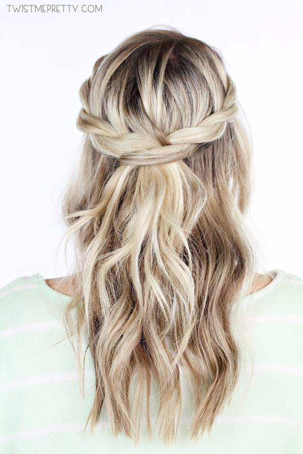 Tried and tested gorgeous pinterest hairstyles you can actually do image source twist me pretty solutioingenieria Choice Image