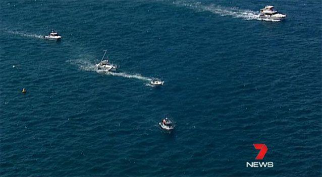 Several people were thrown from the yacht, a Transport NSW spokesperson said. Source: 7 News