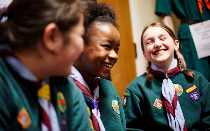 Children are joining the Scouts in order to improve their CVs and get into university  - (c)jonchallicom