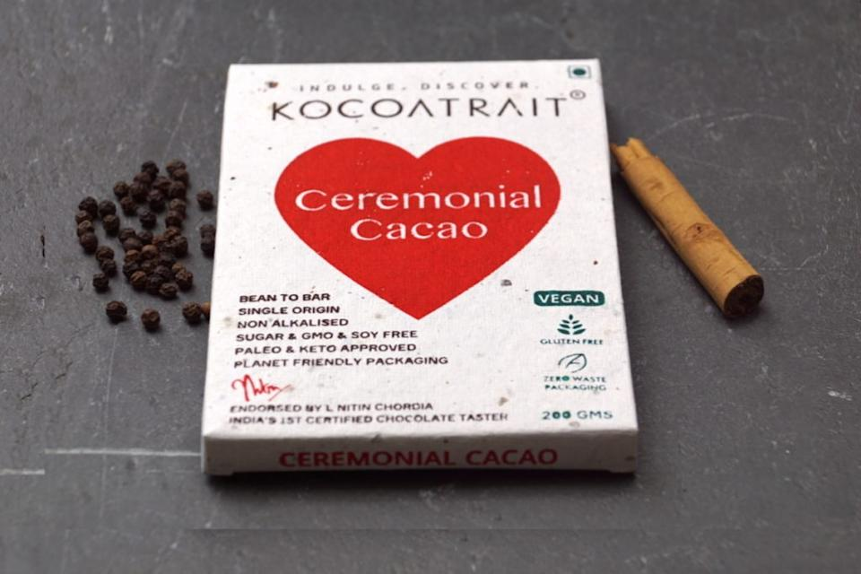 The raw and minimally processed version of cacao used for cacao ceremonies is called Ceremonial Cacao
