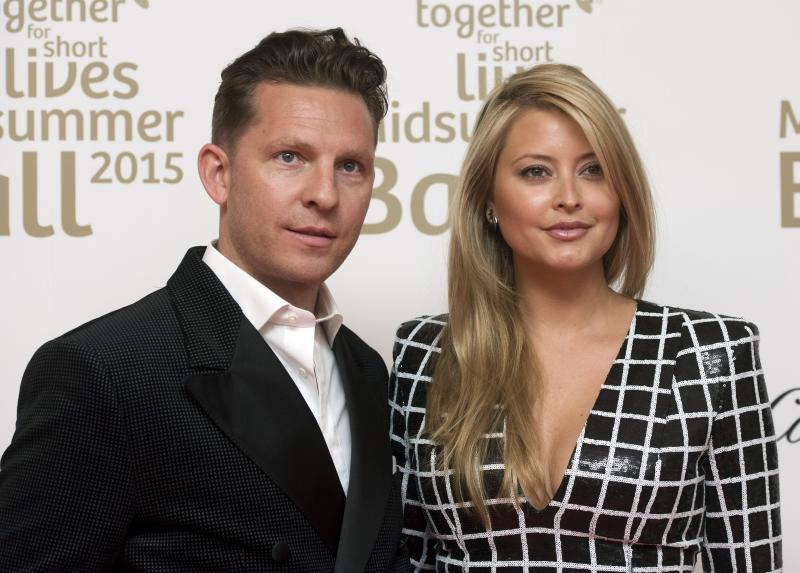 Nick Candy (left) and Holly Candy attending the Midsummer Ball for Together for Short Lives at Sixty One Whitehall, London.