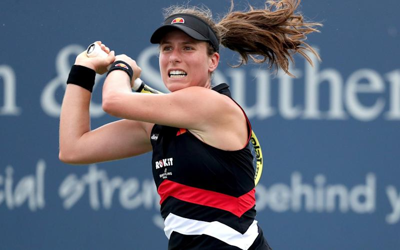 Johanna Konta has lost both matches she's played since Wimbledon - Getty Images North America