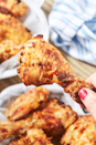 """<p>Trust us, the air fryer is about to be your bff. </p><p>Get the recipe from <a href=""""https://www.delish.com/cooking/recipe-ideas/a28091788/air-fryer-fried-chicken-recipe/"""" rel=""""nofollow noopener"""" target=""""_blank"""" data-ylk=""""slk:Delish"""" class=""""link rapid-noclick-resp"""">Delish</a>.</p>"""