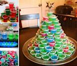 """<p>Okay, so this one is not so much a game as a challenge. Can you and your friends conquer this boozy Christmas tree?</p><p><strong>Get the tutorial at <a href=""""http://myincrediblerecipes.com/jello-shot-christmas-tree/"""" rel=""""nofollow noopener"""" target=""""_blank"""" data-ylk=""""slk:My Incredible Recipes"""" class=""""link rapid-noclick-resp"""">My Incredible Recipes</a>.</strong></p><p><a class=""""link rapid-noclick-resp"""" href=""""https://www.amazon.com/Plastic-Disposable-Condiment-Dressing-Containers/dp/B07BGDK585/?tag=syn-yahoo-20&ascsubtag=%5Bartid%7C10050.g.22718533%5Bsrc%7Cyahoo-us"""" rel=""""nofollow noopener"""" target=""""_blank"""" data-ylk=""""slk:SHOP DISPOSABLE CUPS"""">SHOP DISPOSABLE CUPS</a></p>"""