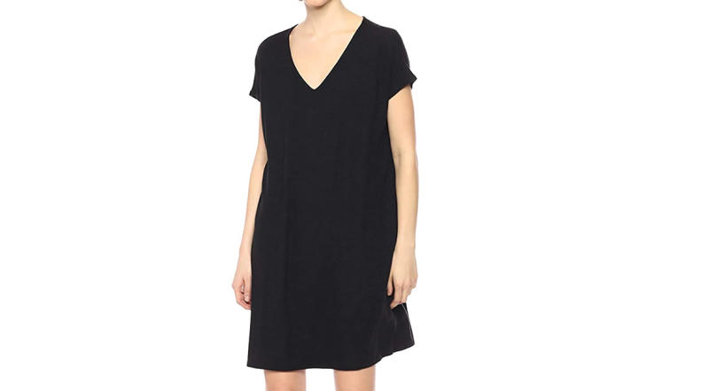 Daily Ritual Women's Cozy Knit Dolman-Sleeve V-Neck Dress (Photo: Amazon)