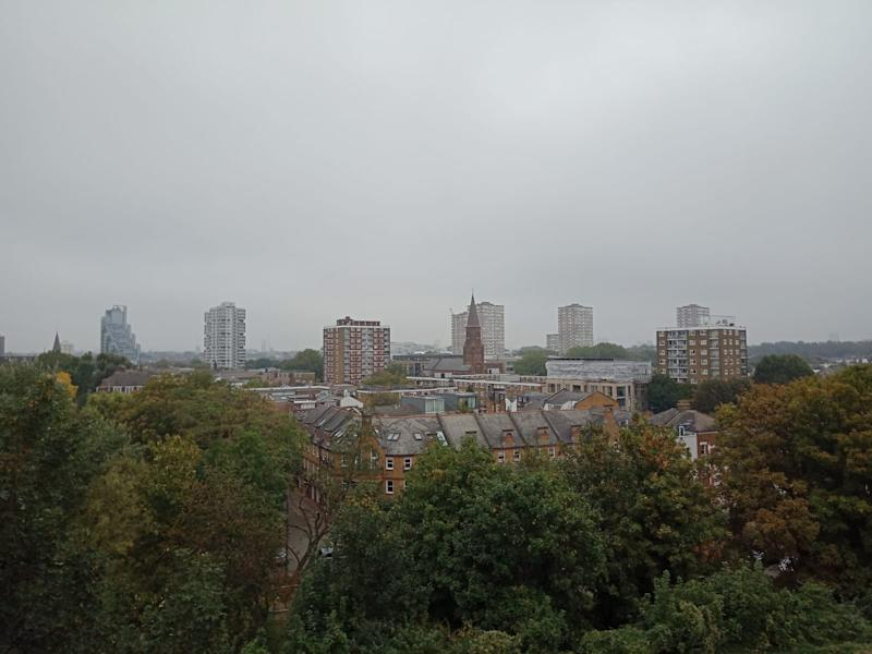 Parts of London were blanketed in fog this morning. (Brodie Owen)