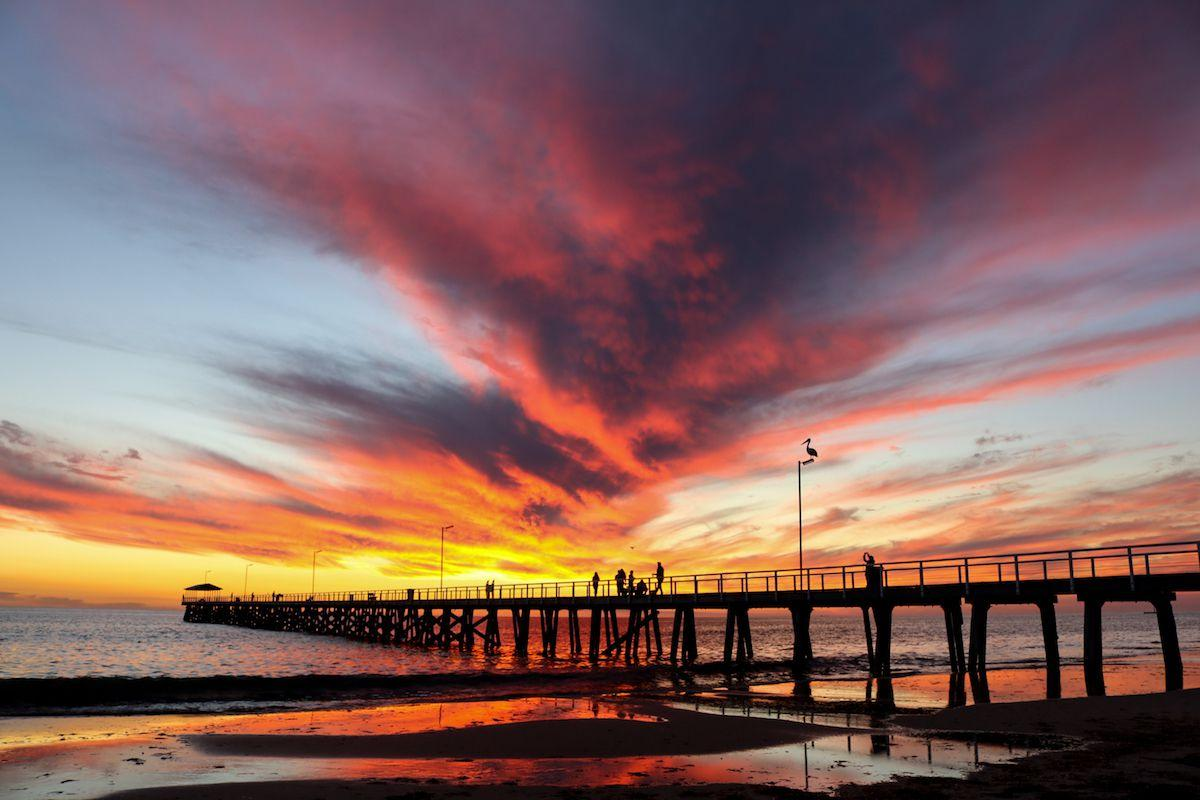 <p>Sunset in Adelaide, Australia // May 11, 2017</p>