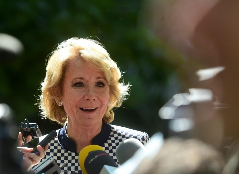 Spain's former conservative Popular Party (PP) president Esperanza Aguirre pledged she was unaware of the alleged corrupt activities of those once her closest advisers