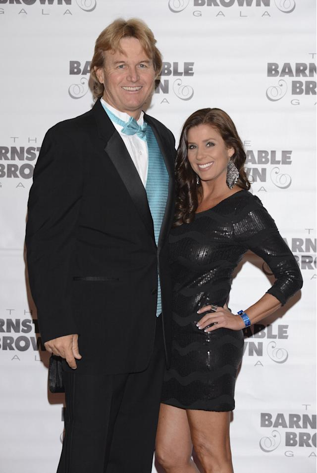 LOUISVILLE, KY - MAY 02: Dale Barnstable and Nikki Williams attend the Barnstable Brown Kentucky Derby Eve Gala at Barnstable Brown House on May 2, 2014 in Louisville, Kentucky. (Photo by Vivien Killilea/Getty Images)