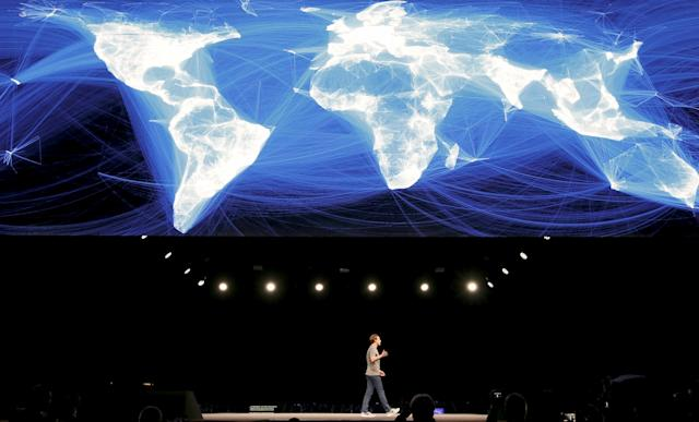 Mark Zuckerberg, founder of Facebook. REUTERS/Albert Gea