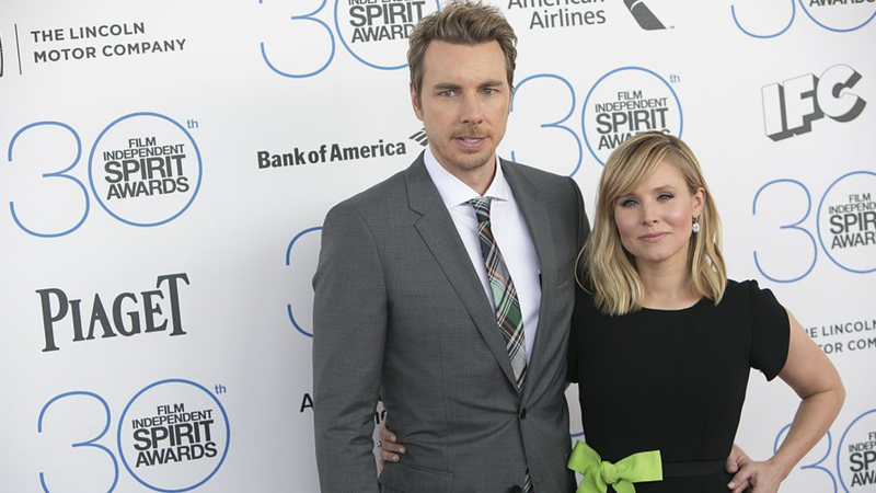 Dax Shepard and Kristen Bell at the 2015 Independent Spirit Awards