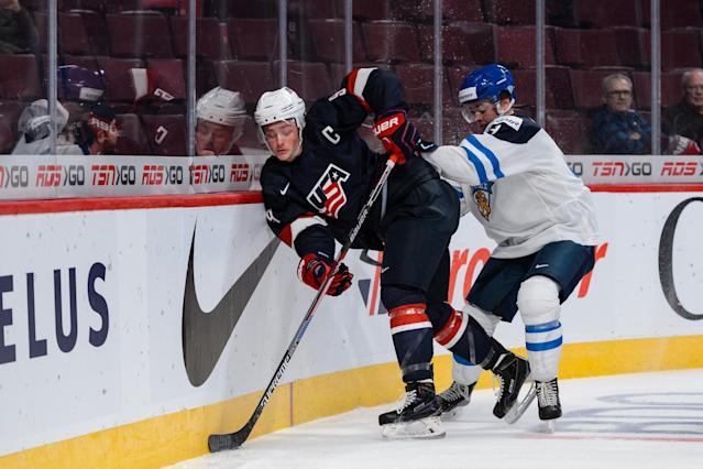 World Junior 2015: Eichel a statistical nightmare for opponents as Finnish opposition falls flat