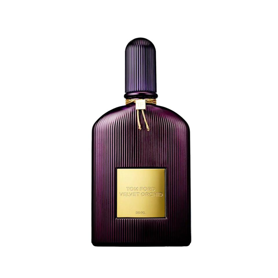 """""""Tom Ford Velvet Orchid was my first adult fragrance. It made me feel sensual and warm. I wore it through some very hard times and it always picked me up and inspired me just by the smell."""" — Hailey"""