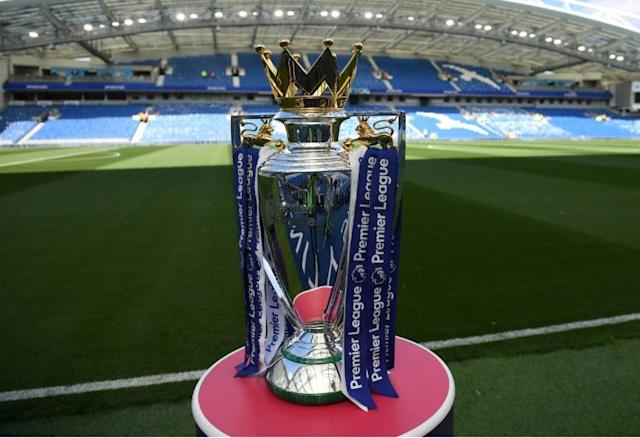 A government minister is keen for the Premier League to return in mid-June (AFP Photo/CHRIS J RATCLIFFE)
