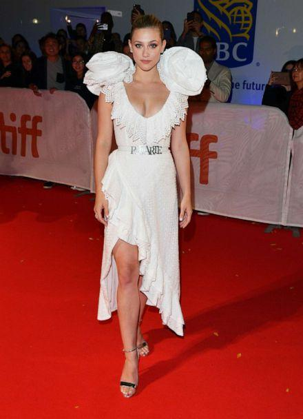 PHOTO: Lili Reinhart attends the 'Hustlers' premiere during the 2019 Toronto International Film Festival at Roy Thomson Hall on Sept. 7, 2019 in Toronto. (George Pimentel/Getty Images)