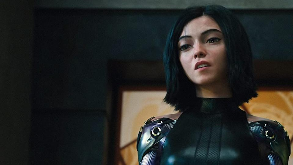 Rosa Salazar in Alita: Battle Angel (Credit: 20th Century Fox)