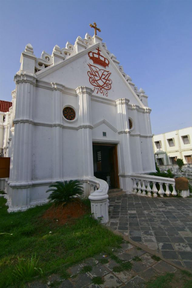 The New Jerusalem Church in Tranquebar was established in 1718 by Bartholomaus Ziegenbalg, the first Protestant Missionary and first Royal Missionary from Denmark to India. Ziegenbalg landed at Tranquebar, then a Danish colony, on July 9, 1706. Read more about Tranquebar on the Traveler blog Photo by Anand Yegnaswami/ The Green Ogre