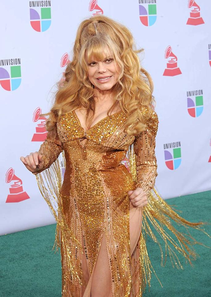 """January 15: Charo turns 60 Denise Truscello/<a href=""""http://www.wireimage.com"""" target=""""new"""">WireImage.com</a> - November 11, 2010"""