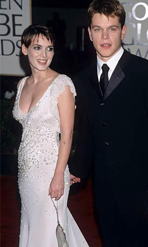 Winona Ryder and Matt Damon were once an item, Kevin Mazur/WireImage.com