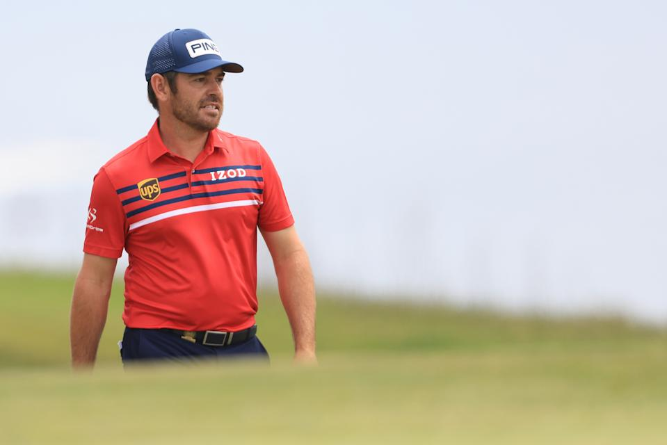 Louis Oosthuizen has a second major in his sights. (Sean M. Haffey/Getty Images)
