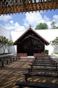 The chapel at the museum. Photo: Coconuts